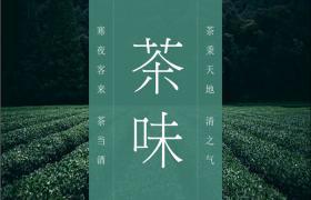 绿色新鲜茶文化PPT模板