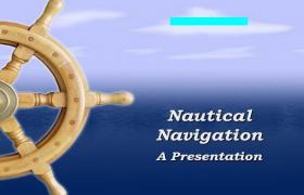 航海旅游PPT模板