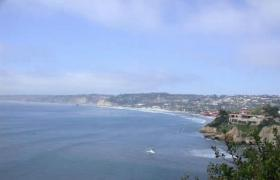 海岸海景风光PPT模板