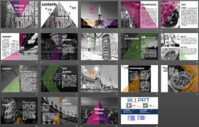 旅游幻灯片:美丽的欧洲PPT