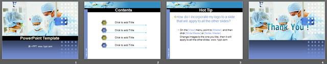 医疗手术<a href=http://www.pptxz.com target=_blank class=infotextkey>PPT模板</a>下载