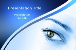 眼科PPT模板下载