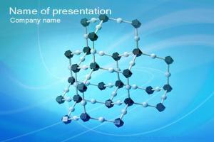 分子结构PPT模板下载