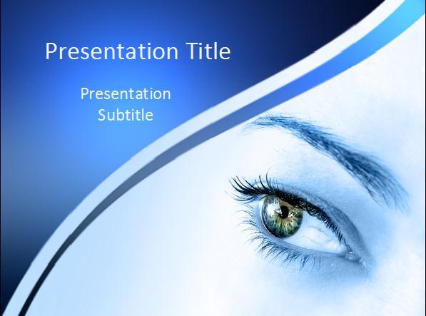 眼科<a href=http://www.pptxz.com target=_blank class=infotextkey>PPT模板</a>