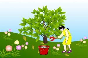植树节PPT模板下载