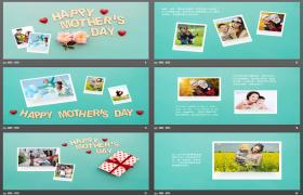 母亲节电子册PPT模板下载