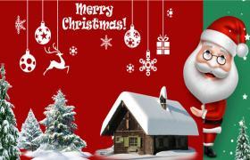 2019年圣诞老人圣诞节PPT模板